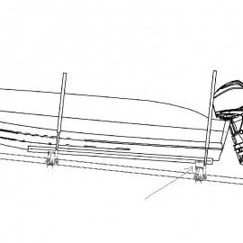 Höjning 200mm - båtslip