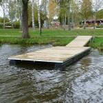 Jarkko brygga - bryggelement