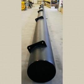 Flytpontoner rörpontoner polyetenpontoner för bastuflotte husbåt