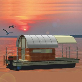 102 mobil pontonhusbåt