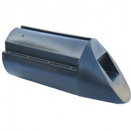 PPT01 Pontonbygge för bryggbåt, husbåt mm. Flytpontoner, blockponton, polyetenponton