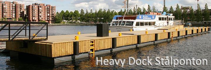 Hevy Dock Stålponton