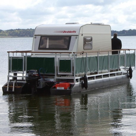 750x300-06 Katamaranponton pontonbåt