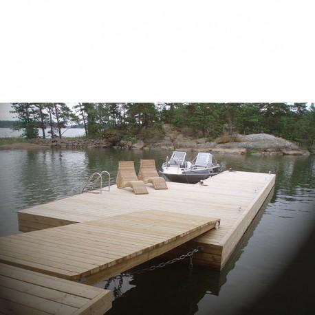 President® Silja en lyxig båtbrygga och badbrygga