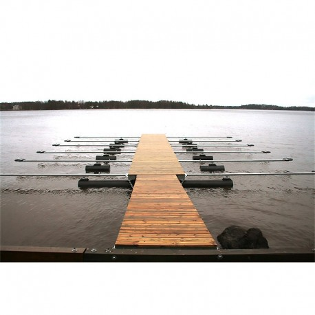 8m Catamaran båthamn 6 båtplatser