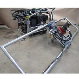 Hydraulisk handhållen rotator