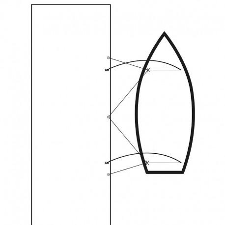 Mooring Whips förtöjningsstänger