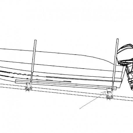 Höjning 300mm - båtslip