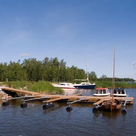 Komplett Harbour® Std 2,4x12,5m flytbrygga