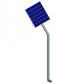 Solpanel för båtslip