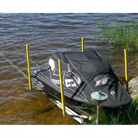 Båtslip för Jetski med elvinsch