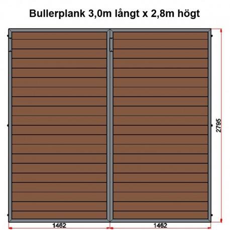 2960x2795 Bullerplank