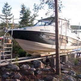 VR-2500E Båtslip