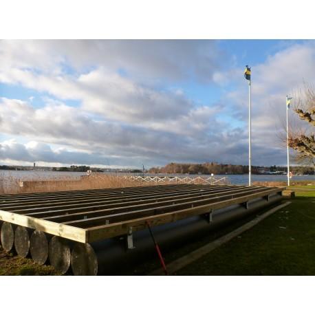 Gränsö 6x12,6m bastupontoner