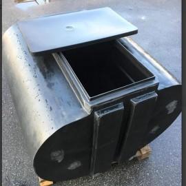 W1200 ponton med låda