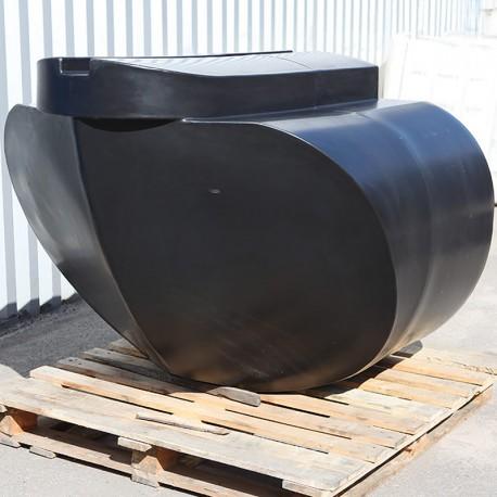 W1200 ponton-för (bogpropeller)