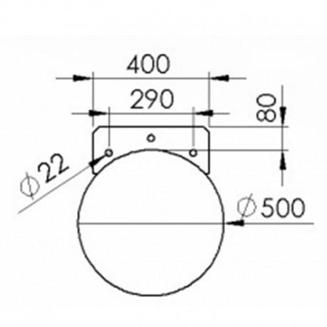 Rörponton 560mmx9500mm