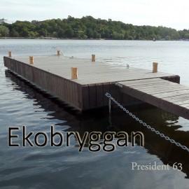 Ekobrygga / Båtbrygga