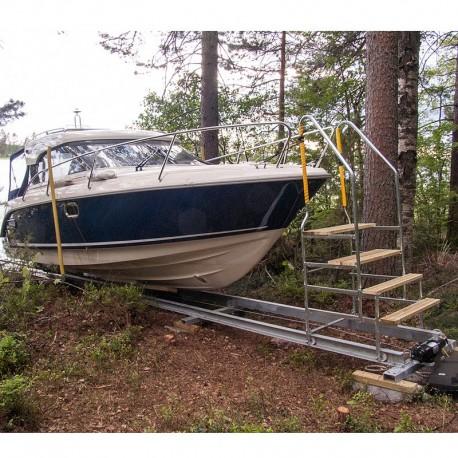 Högre trappa till din båtslip