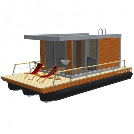 202 mobil pontonhusbåt